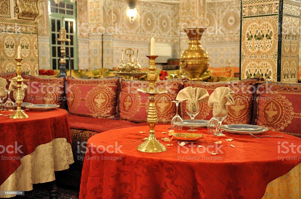 Moroccan restaurant royalty-free stock photo