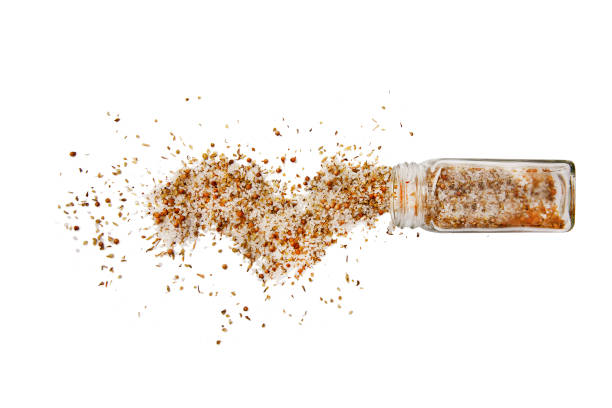 moroccan seasoning stock photo