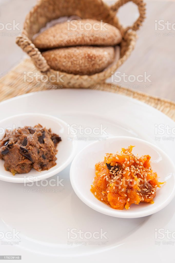 Moroccan starters royalty-free stock photo