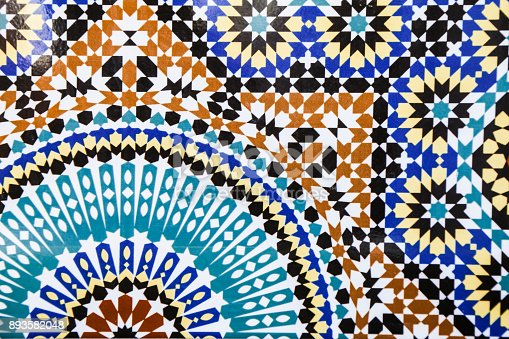 istock Moroccan style pattern 893582048
