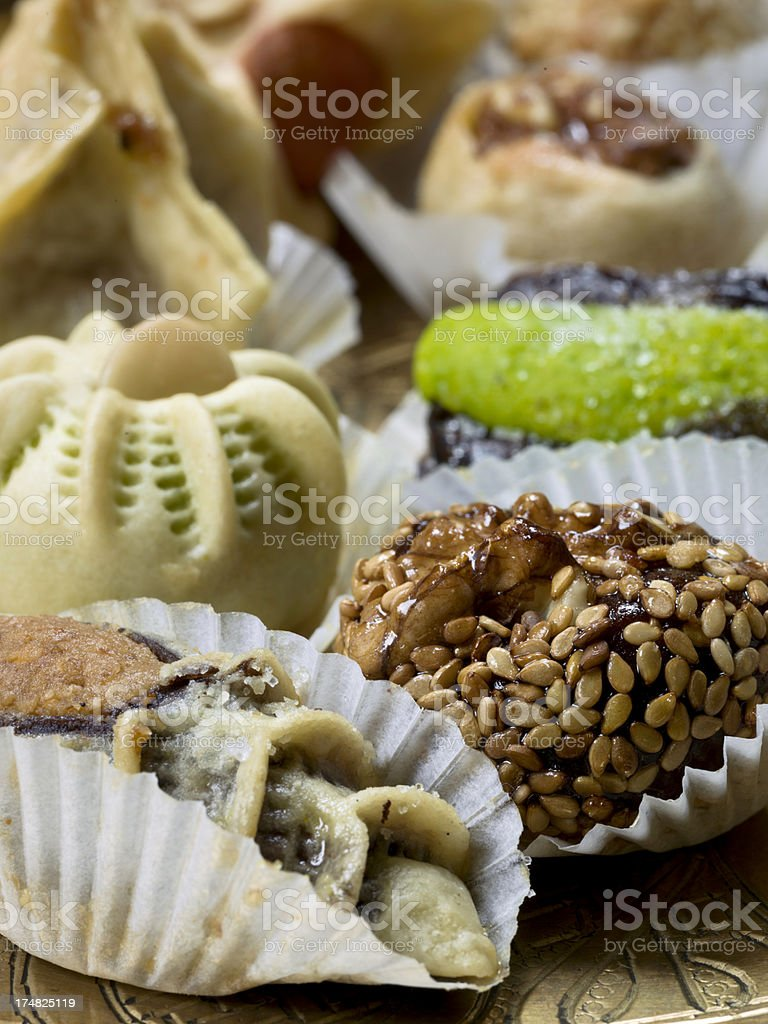 Moroccan sweets royalty-free stock photo