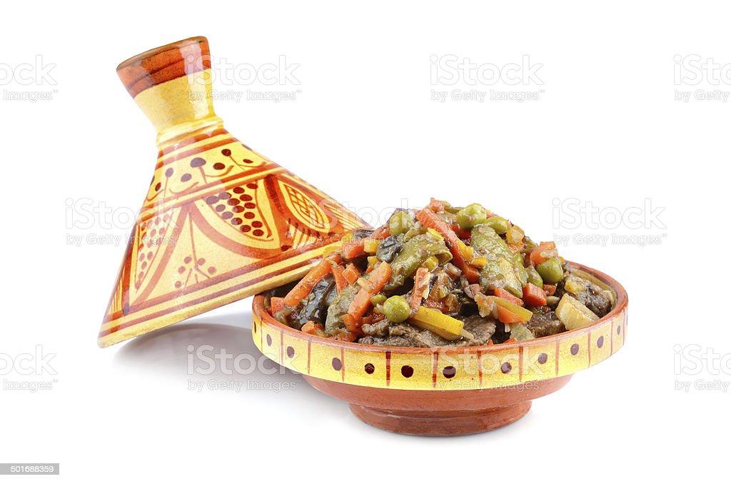 Moroccan tajine stock photo