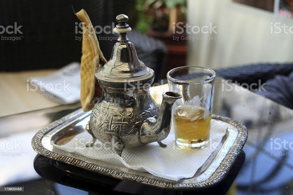 Moroccan tea royalty-free stock photo