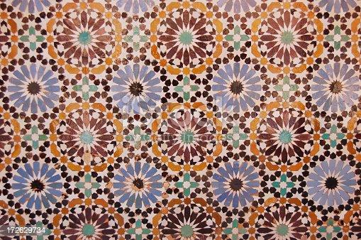 Piastrelle marocchine opere fotografie stock e altre immagini di