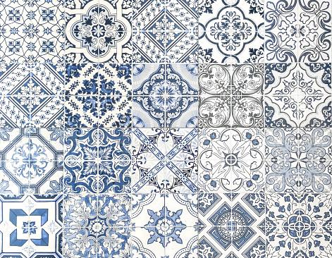 istock Moroccan tile seamless textured 898287168