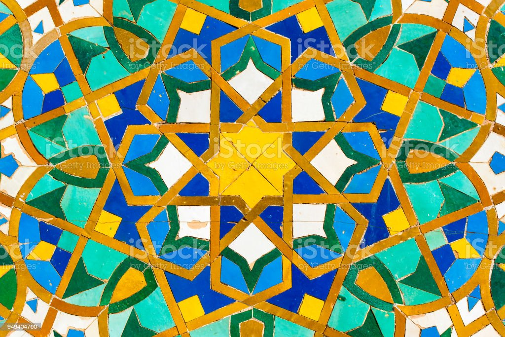 Moroccan Tile With Traditional Patterns Colorful Moroccan Tiles Stock Photo Download Image Now Istock