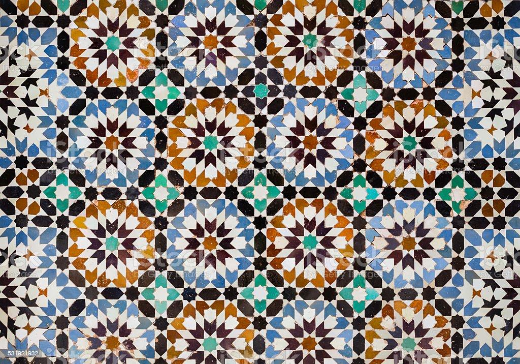 Piastrelle marocchino fotografie stock e altre immagini di