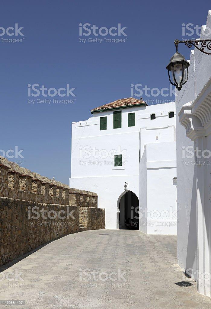 Moroccan town Asilah royalty-free stock photo