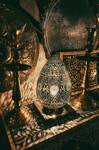 994119256 istock photo Moroccan traditional lamps and lanterns 994119256