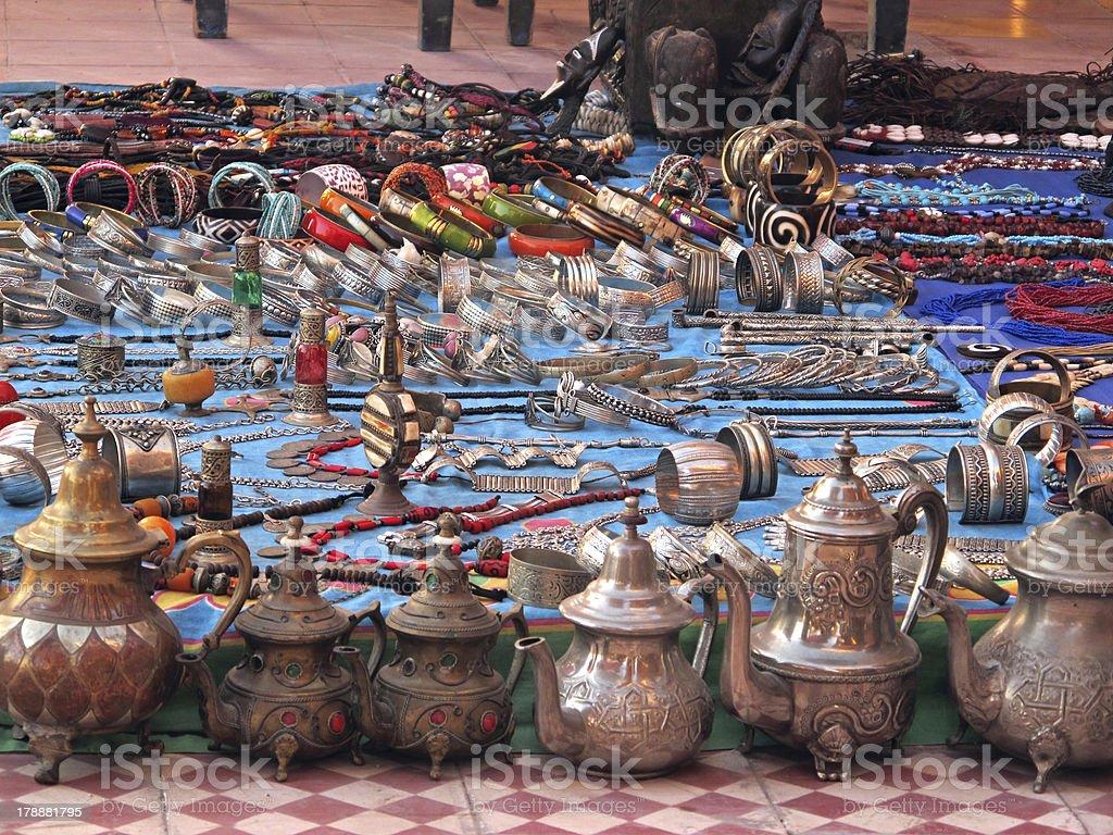 Moroccan Treasures. royalty-free stock photo