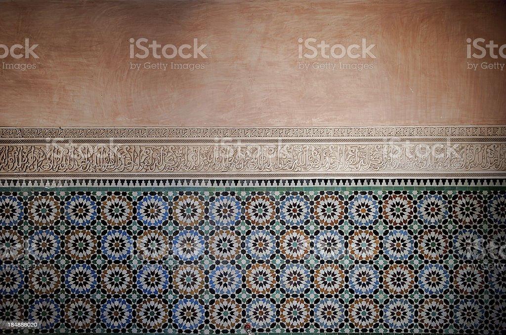 Sfondo vintage con piastrelle marocchine fotografie stock e altre