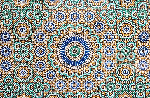 istock moroccan vintage tile background 515483752