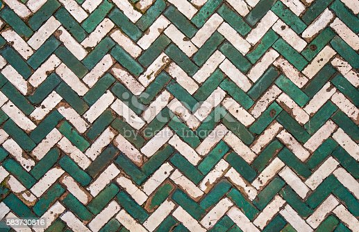 istock moroccan vintage tile background 583730816