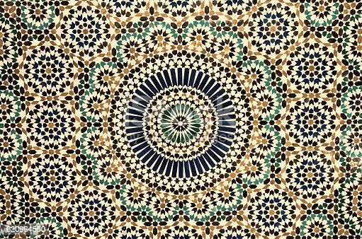 istock moroccan vintage tile background 620964550
