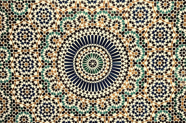 moroccan vintage tile background moroccan vintage tile background arabic style stock pictures, royalty-free photos & images