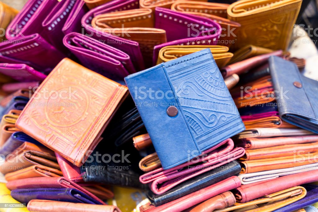 Cartera marroquí - foto de stock