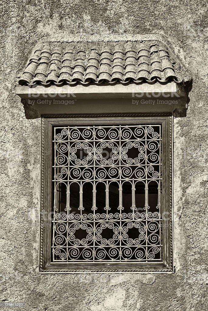 Moroccan window royalty-free stock photo