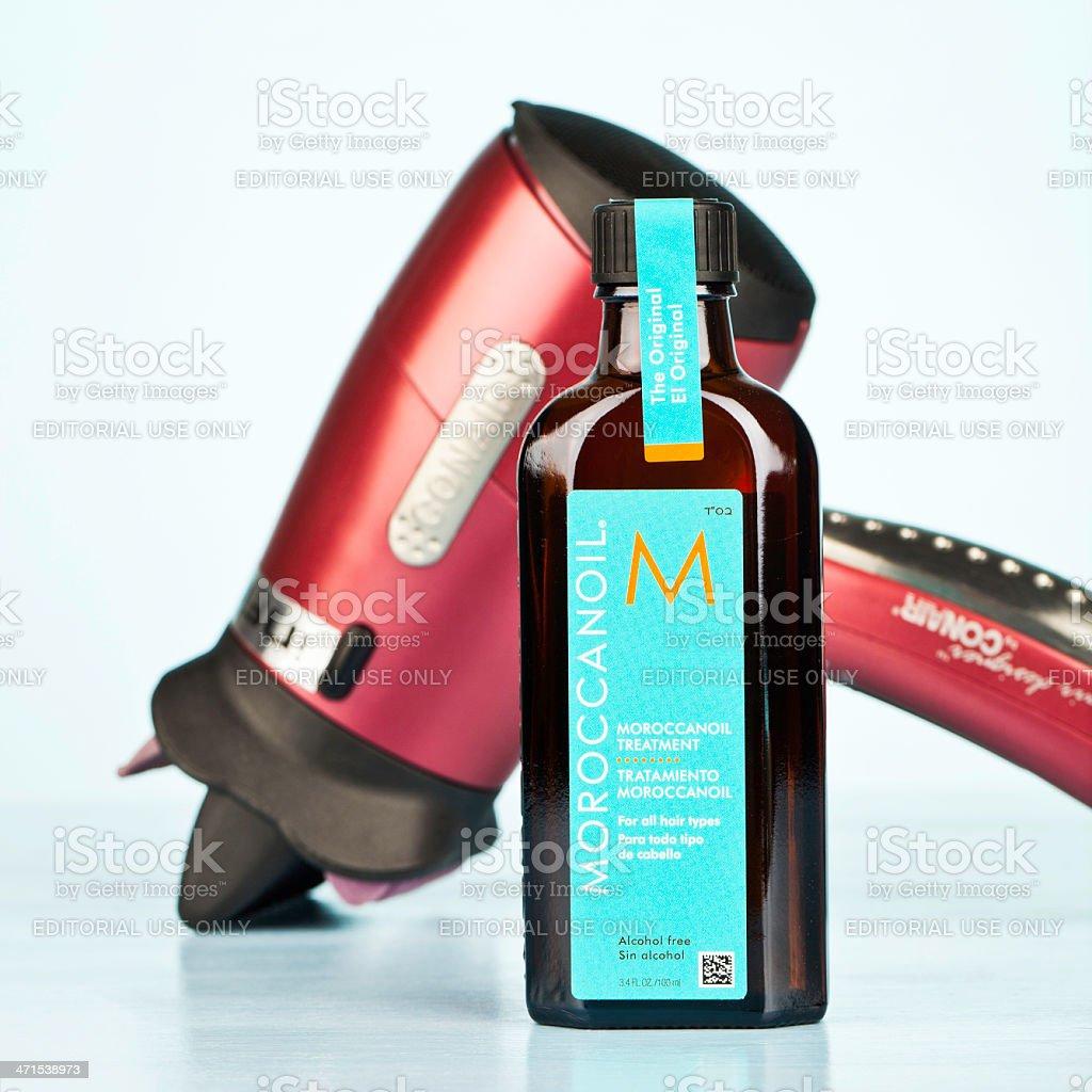 Moroccanoil Hair Treatment royalty-free stock photo