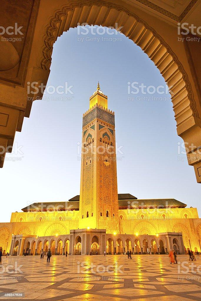 Morocco Casablanca stock photo