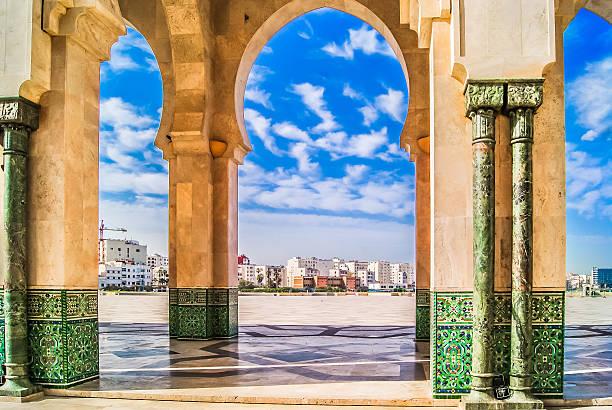 Morocco Casablanca scenic view. – Foto