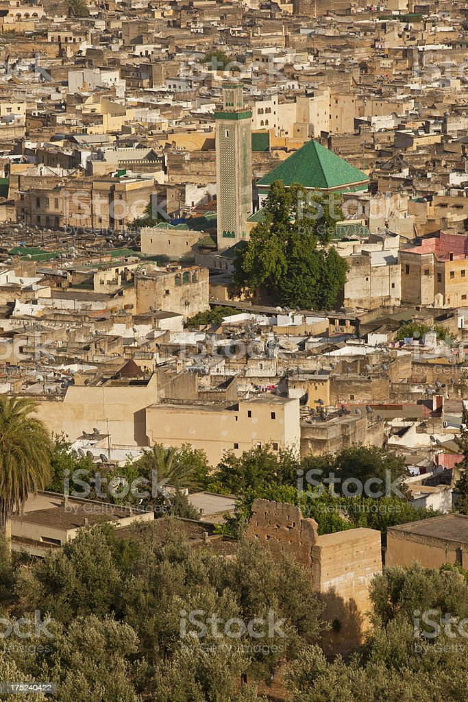 Morocco fez royalty-free stock photo