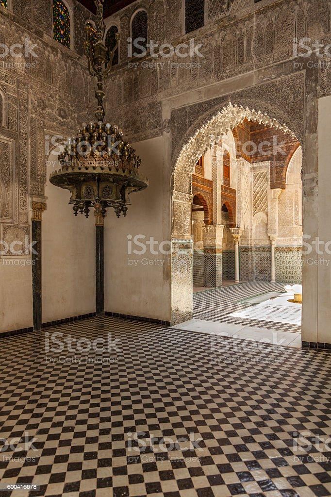 Madrasa Al-Attarine in Fez, Morocco.