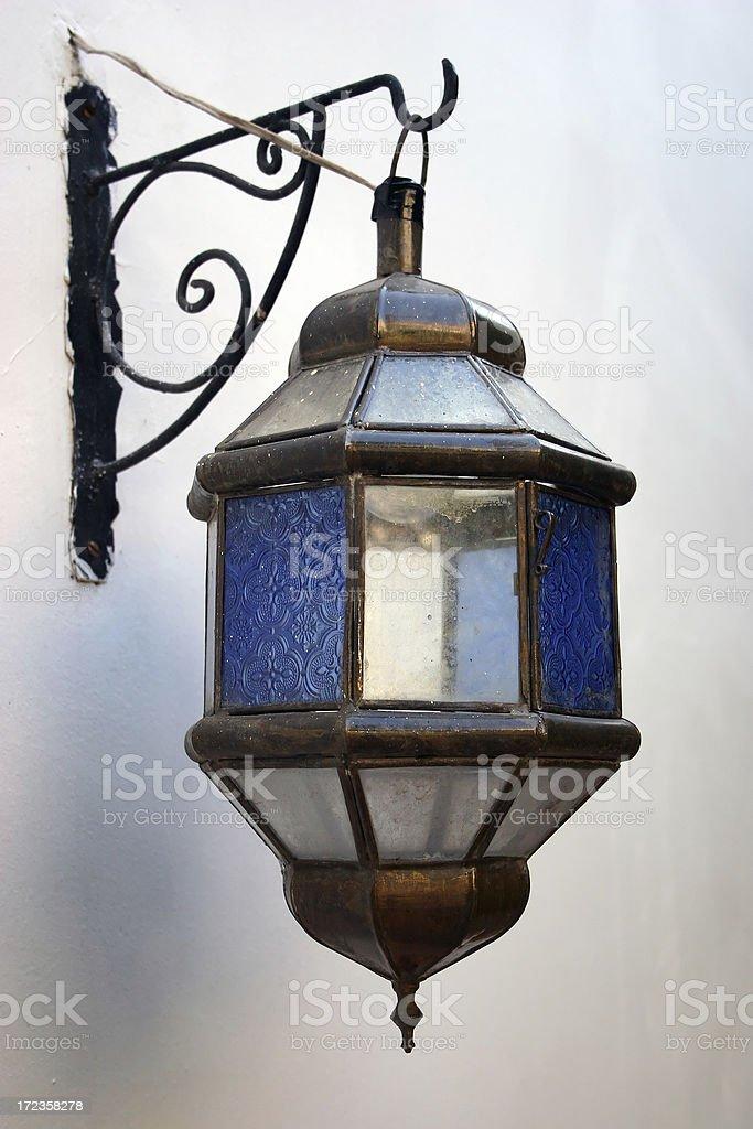 Morocco Lamp royalty-free stock photo