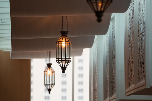 Morocco style lamps