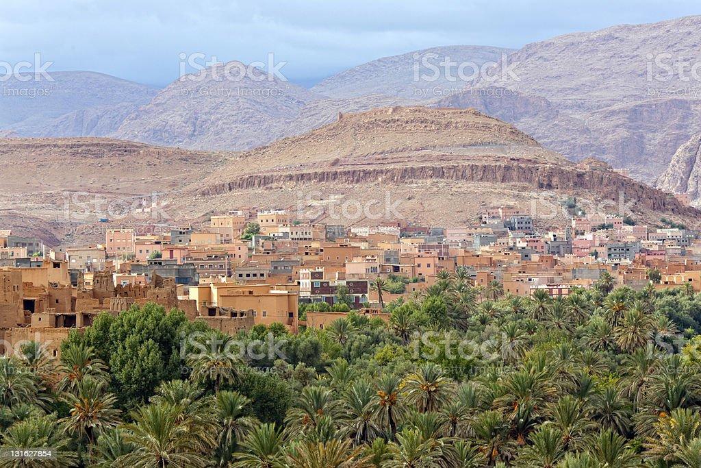 Morocco, thousand Kasbahs area stock photo