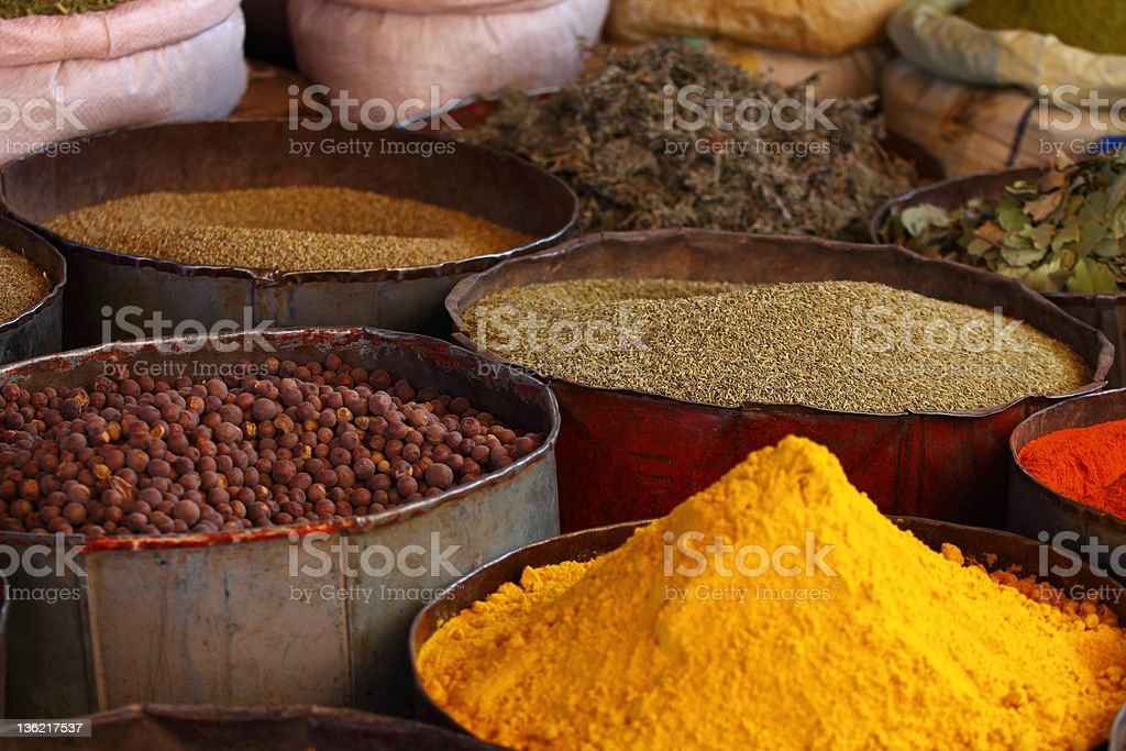 Morocco Traditional Market royalty-free stock photo