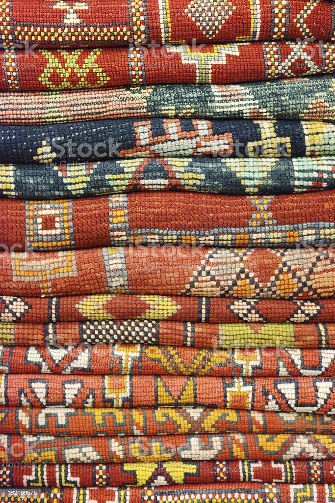 Moroccon Rug royalty-free stock photo