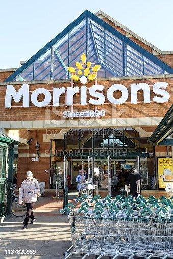 istock Morrisons supermarket London 1137820969