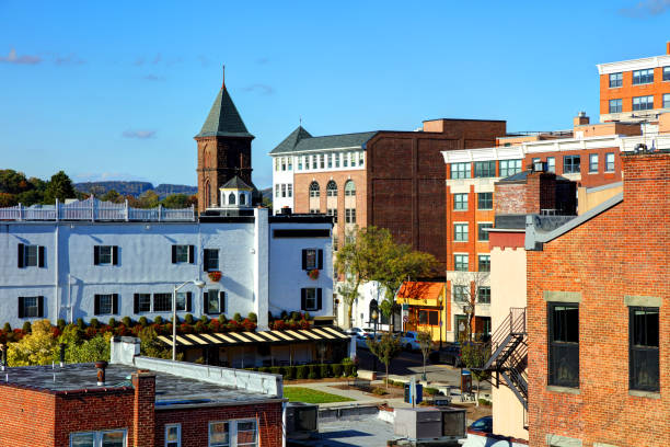Morristown, New Jersey stock photo