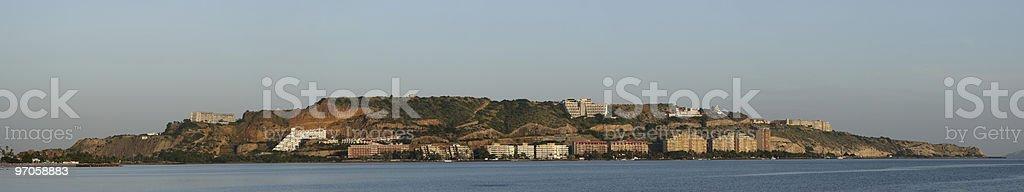 Morro Bay in Puerto La Cruz stock photo