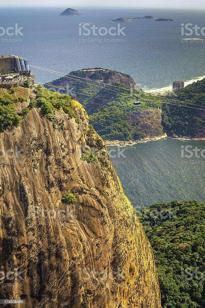 Morro do Leme royalty-free stock photo