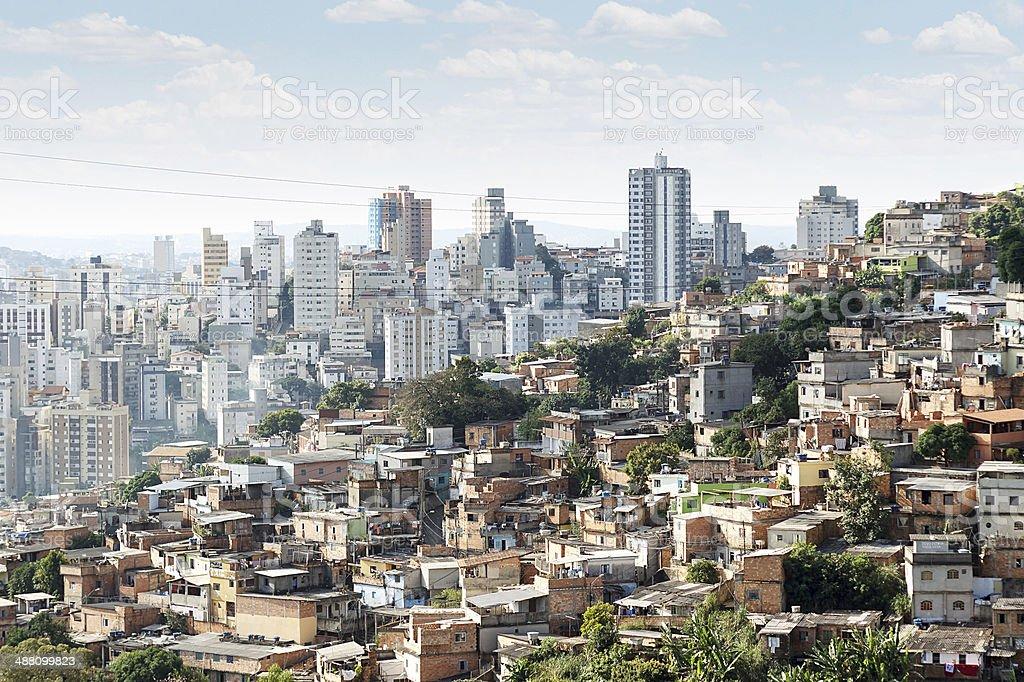 Morro do Papagaio at Belo Horizonte, Minas Gerais, Brazil stock photo