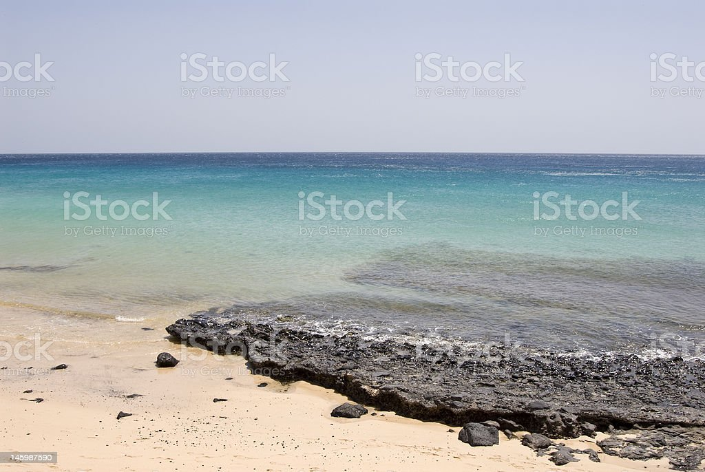 Morro Jable Beach stock photo