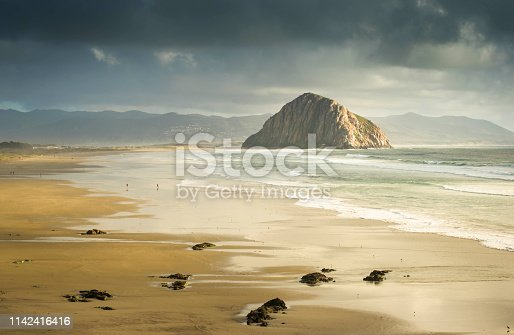 Morro Bay, California, Pacific Ocean, Sunrise - Dawn, Morro Bay State Park