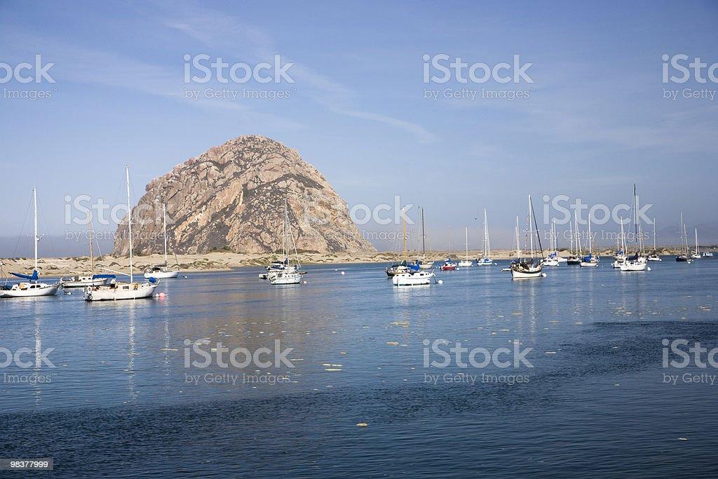 Morro Rock royalty-free stock photo