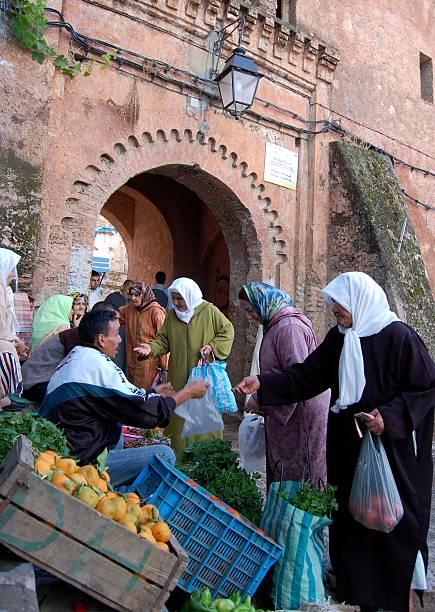 Morrocan Women at Market