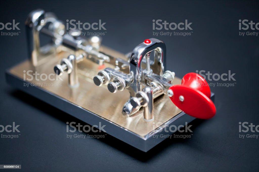 Morse Communication stock photo