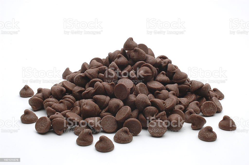 Morsels pile stock photo
