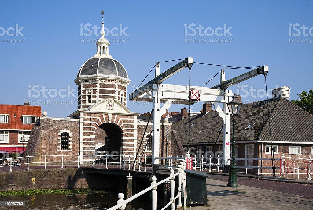 Morspoort city gate stock photo