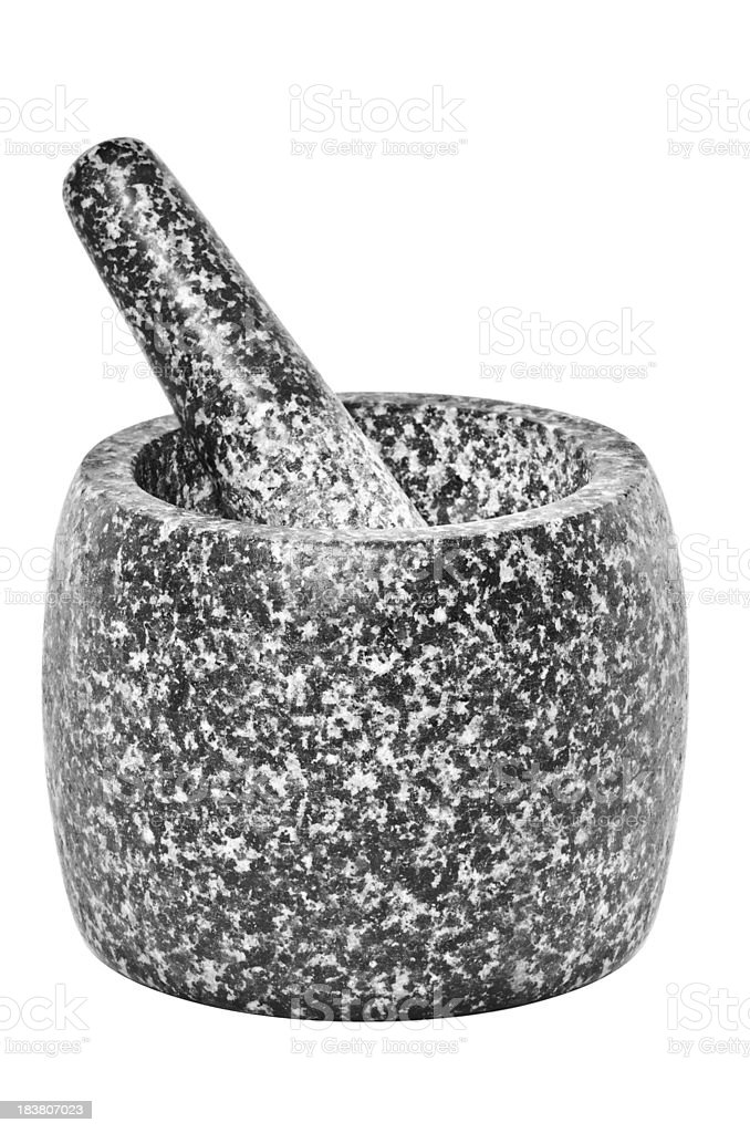 Mortar And Pestle Stock Photo - Download Image Now - iStock