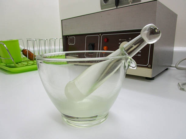 mortar pharmacy - pharmaceutical compounding stock photos and pictures