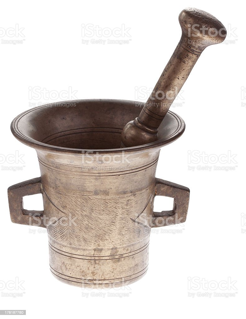 mortar royalty-free stock photo