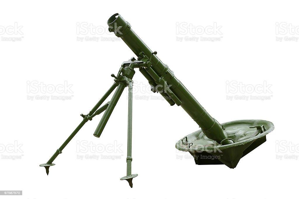Mortar. royaltyfri bildbanksbilder