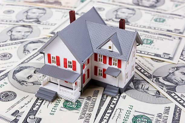 Mortgage y el pago - foto de stock