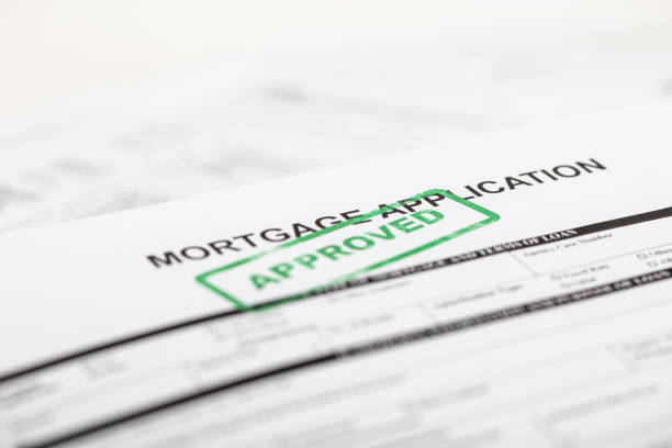 mortgage application - mortgages and loans stock pictures, royalty-free photos & images