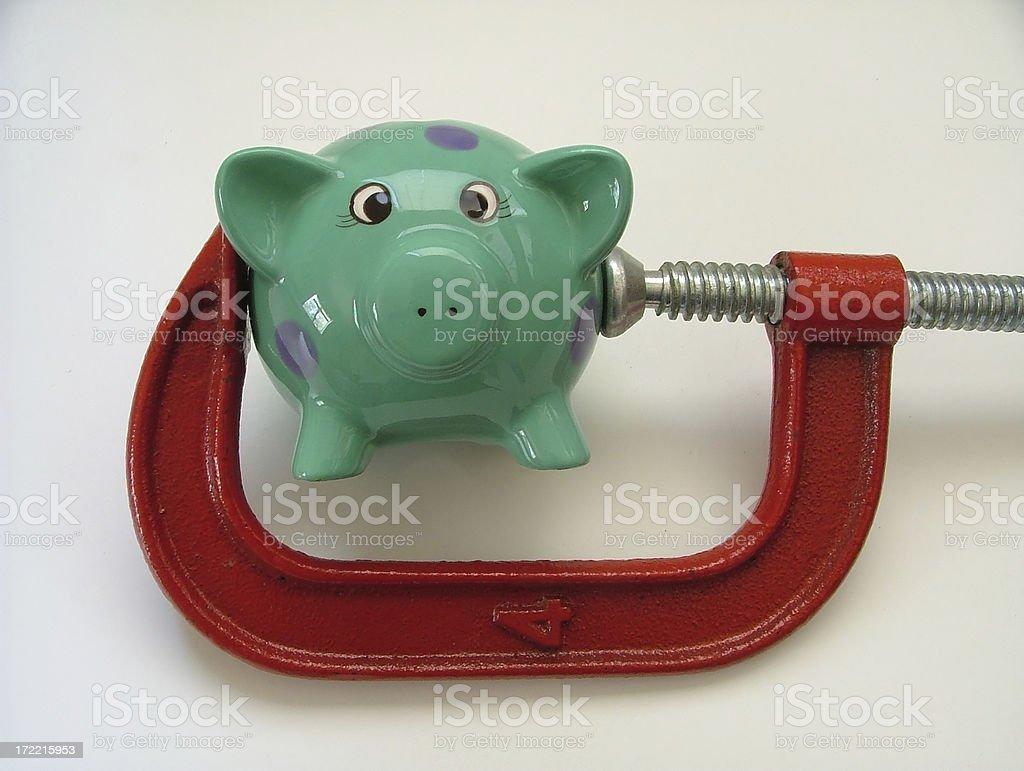 Mortgage Belt royalty-free stock photo